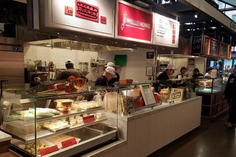 kitchen design flexibility for food halls and mixed use properties