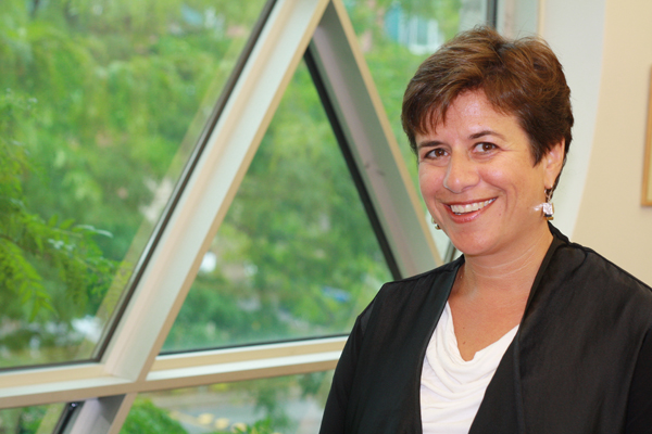 Andrea Freedman, the new president and CEO of the Jewish Federation of Ottawa. Photo by Anita Grace.