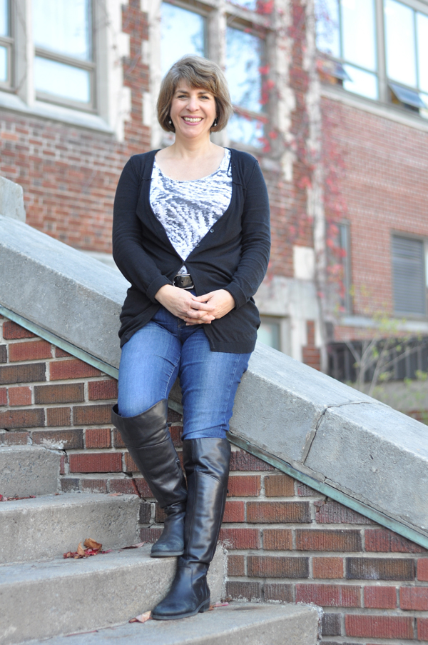 Meet Jackie Barwin, chair of Knight at Nepean. This year's event is taking place Nov.27. Photo by Andrea Tomkins.