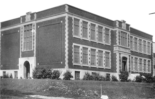 This is Broadview P.S., circa 1930. It's our final remaining link to Nepean Township School Section #2, and one of a handful of remaining historical structures in Westboro, writes local historian and former Broadview student, Dave Allston.