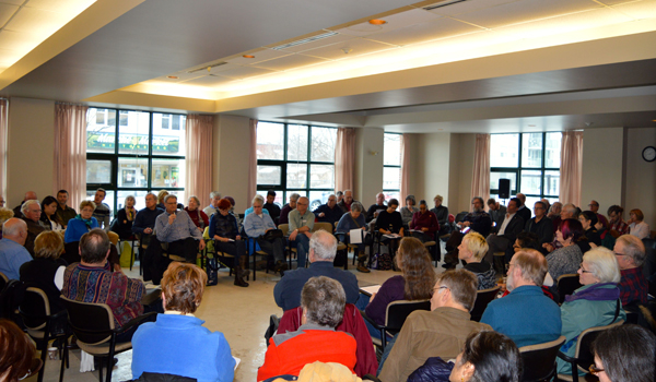 It was standing room only at the Jan.17 Kitchissippi forum. The first hosted by Coun. Jeff Leiper.