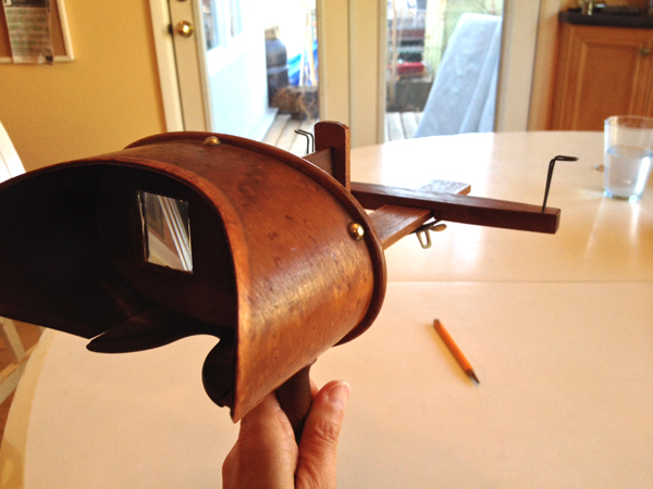This early example of 3D entertainment was once a fixture in Canadian parlours. Photo submitted by Sabrina McTaggart.