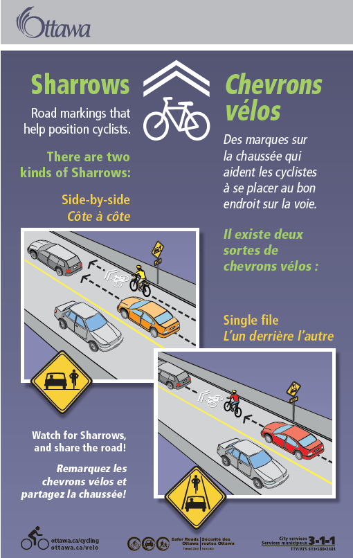 What is a sharrow?