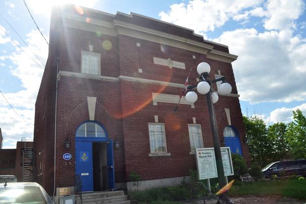 Westboro Masonic Hall. Photo by Andrea Tomkin