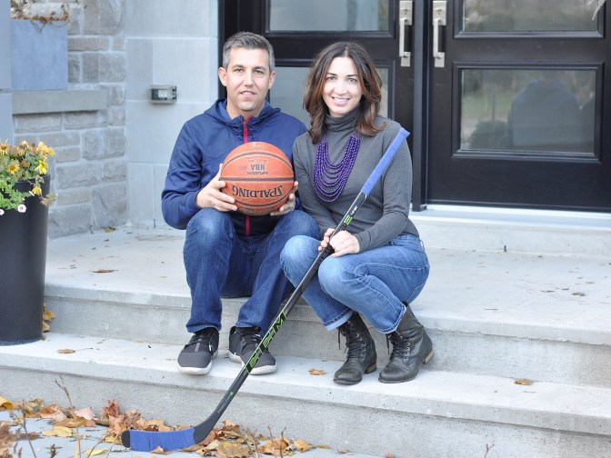 Derek Firth and Liisa Vexler have created an organization called Ausome Ottawa. Their aim is to allow families living with autism to share the joy of sports.
