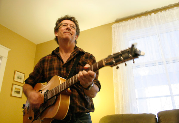 """Ottawa-based singer-songwriter Tony Turner says that he hopes his """"Harperman"""" fame will help fans discover some of his other work."""