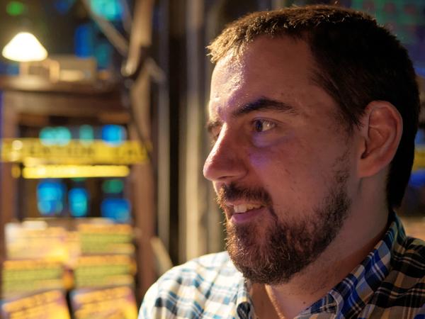 Matt Drouillard, the organizer behind Networking for Nerds (NFN). Photo by Matthew Krull of Krull Photography