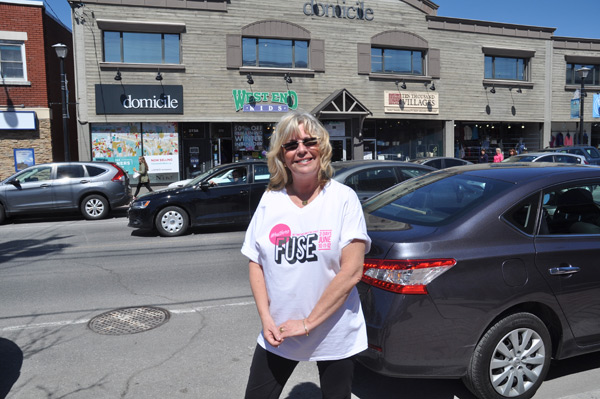 """Everybody loves a festival, everybody loves a free festival,"" says Sheba Schmidt, the owner of West End Kids in Westboro. She's planning on attending both festivals in June: Westboro FUSE as well as Westfest. Photo by Andrea Tomkins"