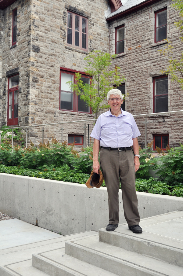 With a bit of vision, the former Sisters of the Visitation monastery on Richmond Road could live on in ways that benefit the community, says the president of Heritage Ottawa, David Jeanes. Photo by Andrea Tomkins