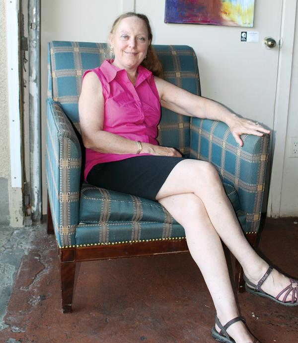 """I read omnivorously and randomly,"" says Rachel Eugster."
