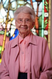 Sister Georgette, also a teacher, entered the order in 1952. Photo by Ted Simpson