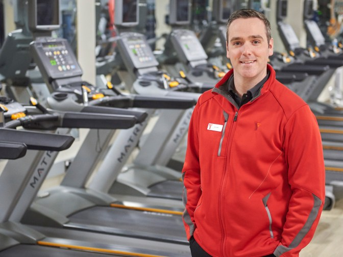 Ryan Gagnon is the General Manager at the Carlingwood Y. Photo by Ellen Bond
