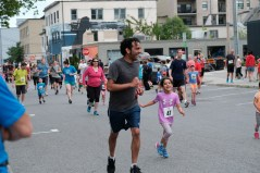 The annual children's 1K Fun Run is a big hit