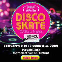 Disco Skate DJ Skate Night on Preston Street Ottawa