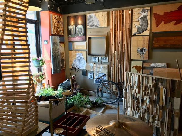Arpi's studio, photo by Andrea Tomkins