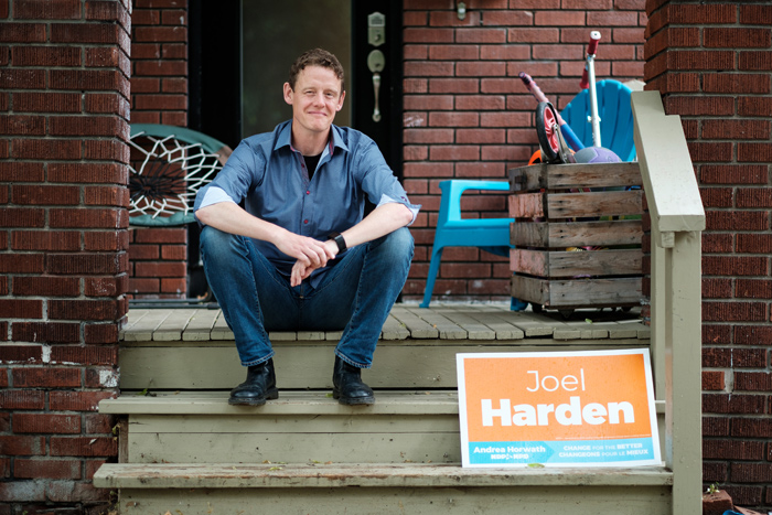Meet the new MPP of Ottawa Centre: Joel Harden. In an effort to get to know him a bit better we're presenting KT readers with five things you should know about him. Photo by Ted Simpson