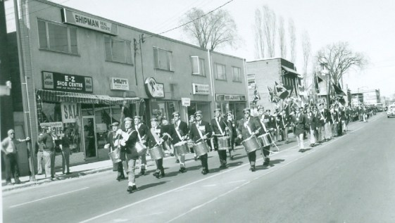 Westboro Legion Opening day parade