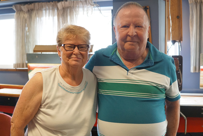Doug and Shirley Munroe have been active volunteers at the Westboro Legion since 1973. Photo by Anne Boys-Hope