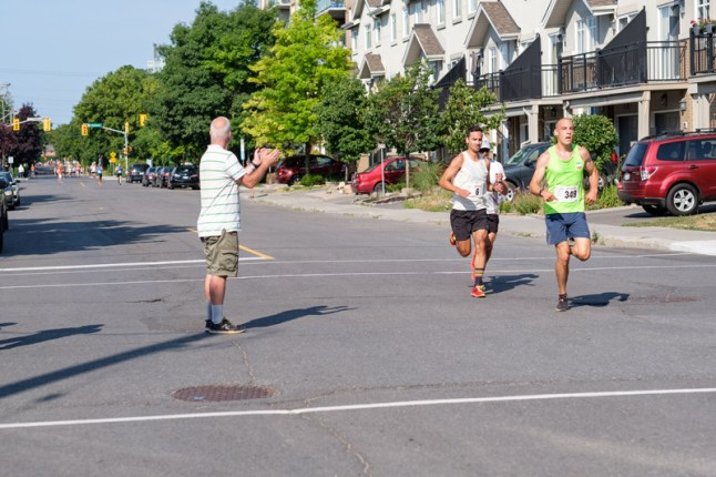 This year's race drew a diverse field of 361 participants
