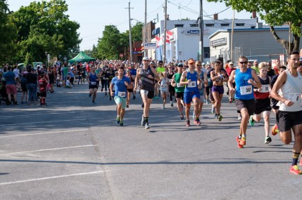 A hot day for the Hintonburg 5K!