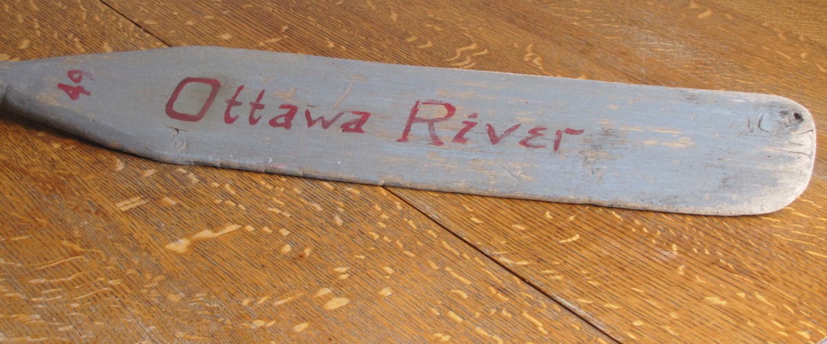 Collectable Treasures: canoes, paddles, and memories of the Ottawa River