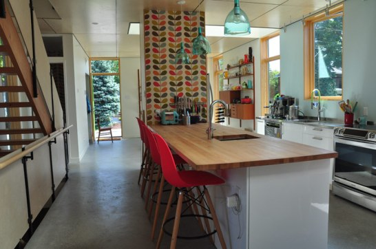 It might sound cliche to say that the kitchen is the heart of the home, but in this case it's true.