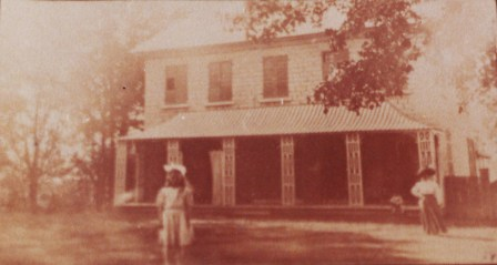 McKellar family house circa 1895.