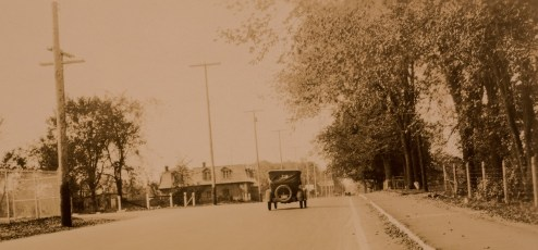 """This 1930 photo is from the """"Ottawa Suburban Roads Commission - Annual Report of the Engineer for 1930"""""""