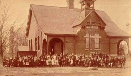 Hintonburg Public School, October 25, 1889. Photo courtesy of Dave Allston