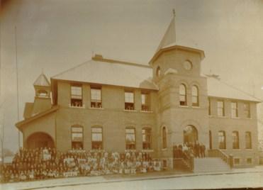 Hintonburg Public School, circa 1905. Photo courtesy of Dave Allston