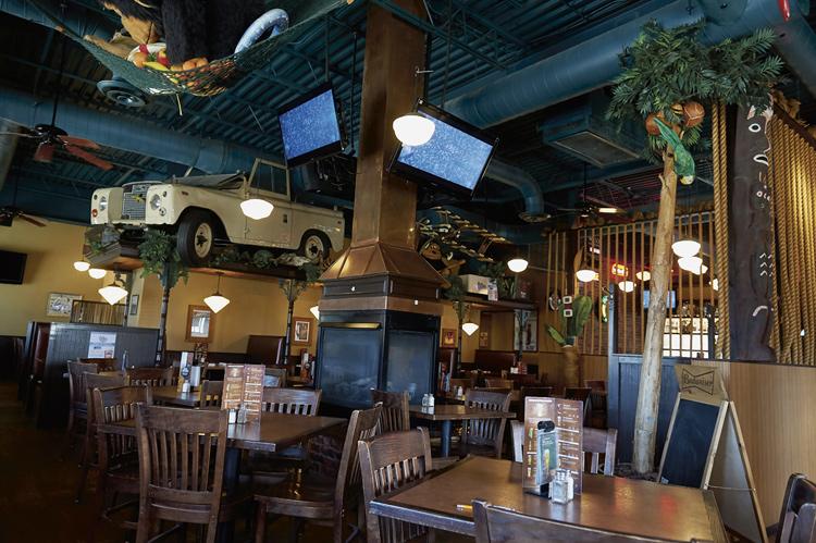 Monkey Joe's restaurant, Ottawa