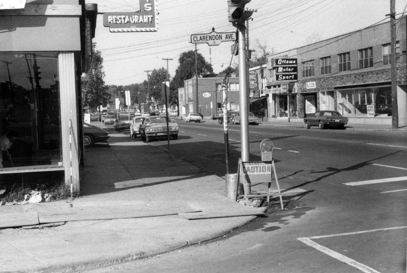 Jimmy's Restaurant corner of Clarendon (City of Ottawa Archives)