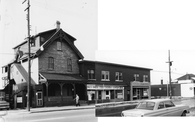 Smirle House and other businesses (City of Ottawa Archives CA-20755)