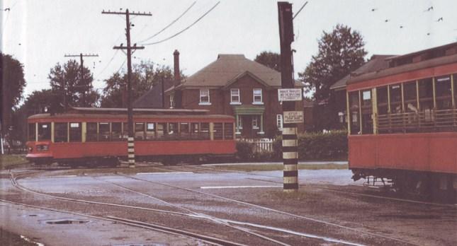 Streetcar turnaround at Byron and Harmer
