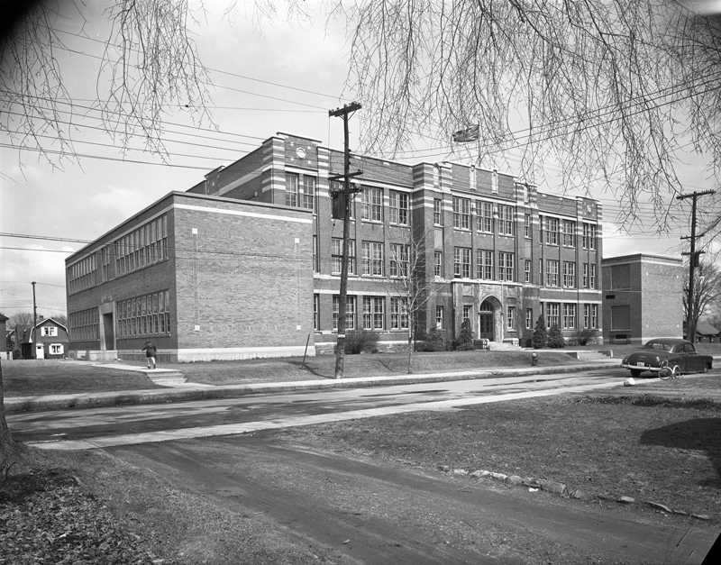 Elmdale School 1954 (City of Ottawa Archives CA-24781)