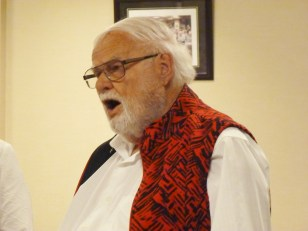 Ed Weick is one of three Kitchissippi area members of the Sunset Singers.