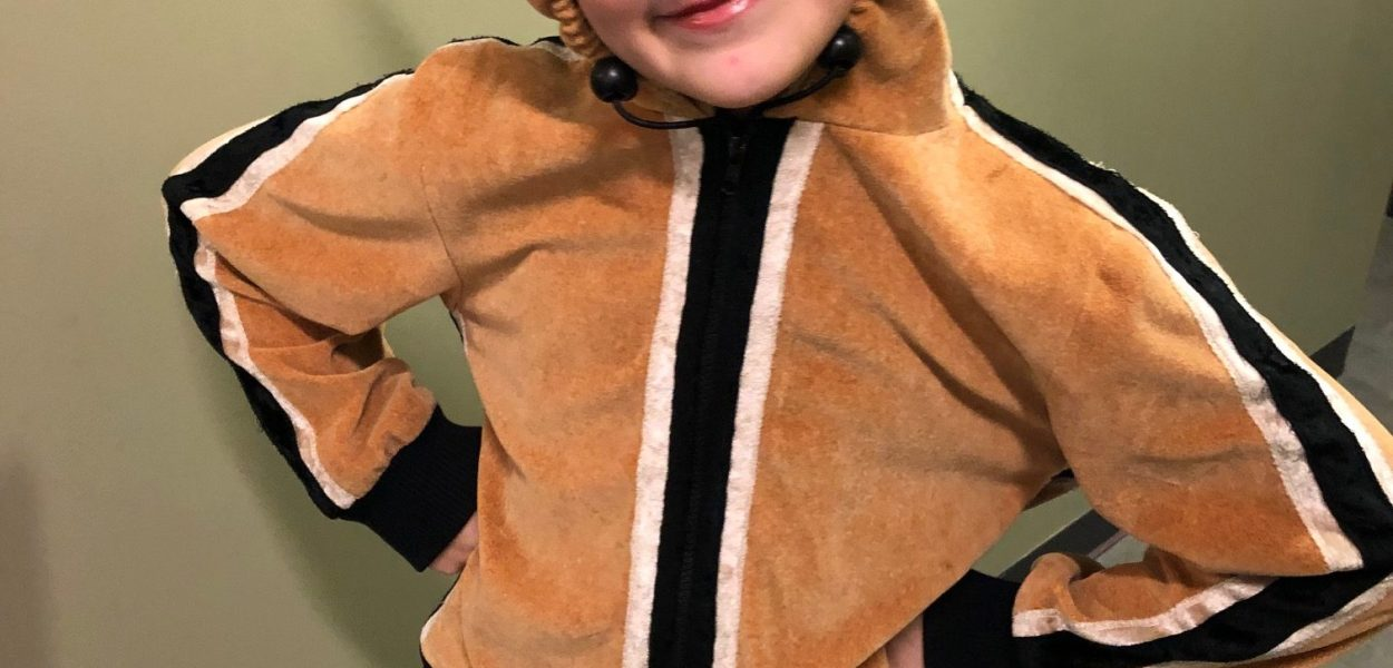 10-year-old Maisie Burchett is one of the chipmunks in this year's performance of Ballet Jörgen' The Nutcracker: A Canadian Tradition at the Shenkman Arts Centre.