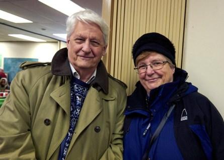 Kitchissippi residents Daniel and Blandine Stringer. Photo by Ellen Bond
