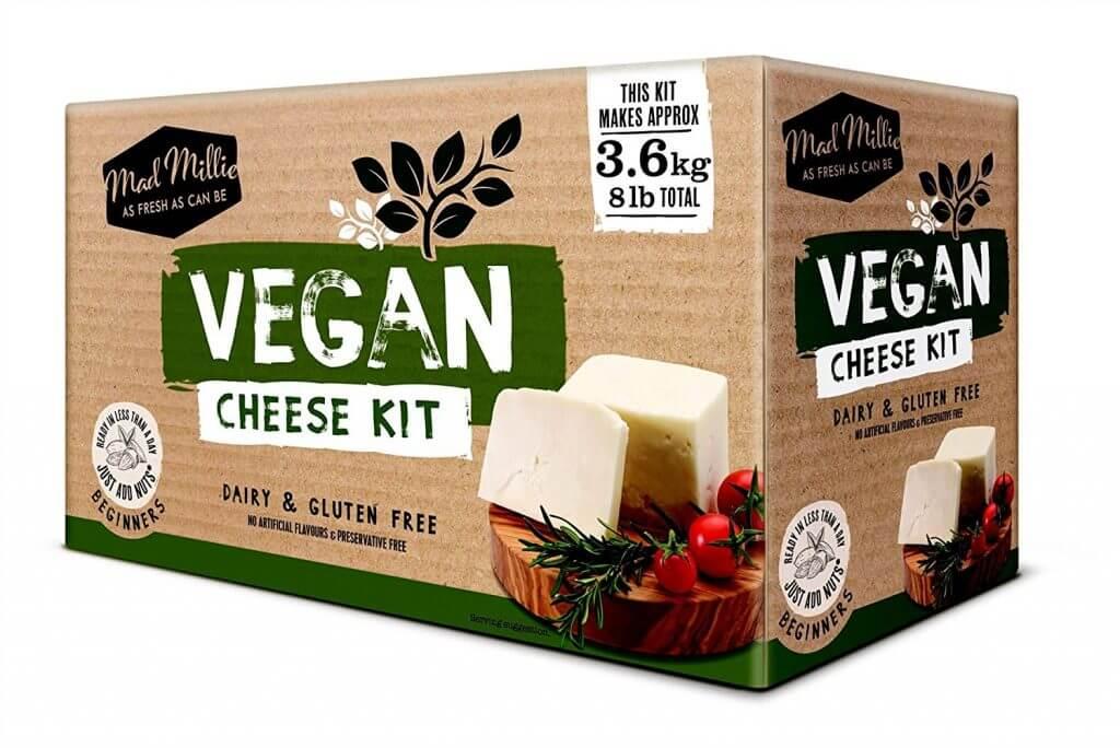Kit para hacer queso vegano