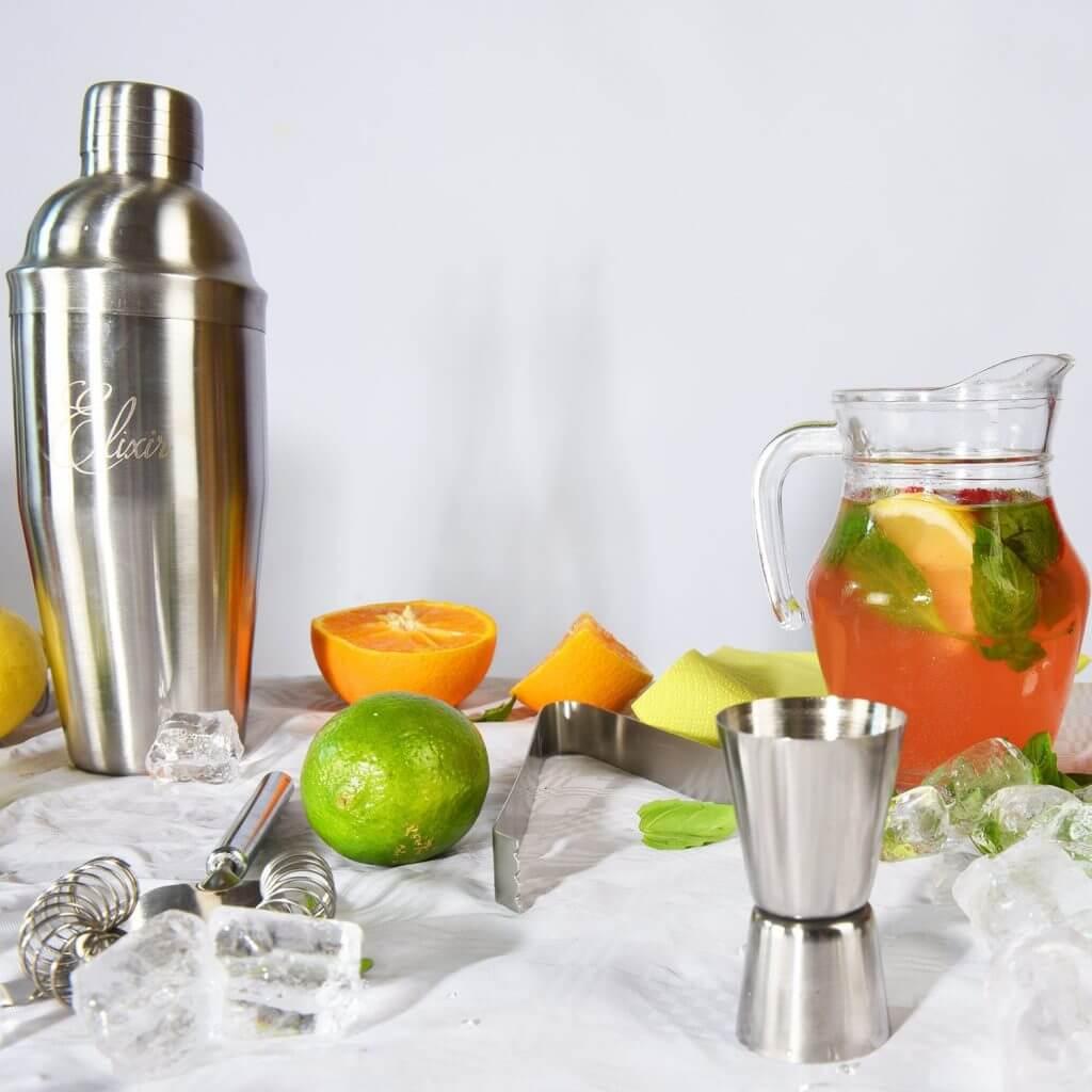 Elixir coctelera inoxidable