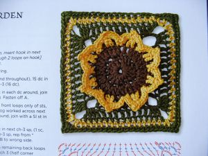 Square 43: Flower Garden Square X (page 77)