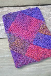 Knitted Kindle Cover by aknitica