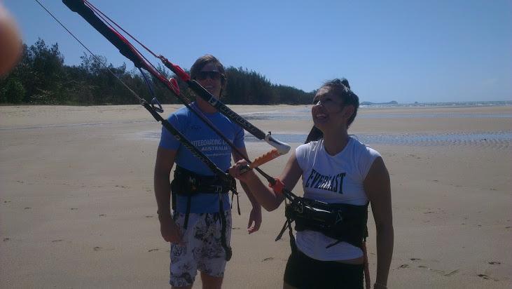 Cairns Kitesurfing Girls