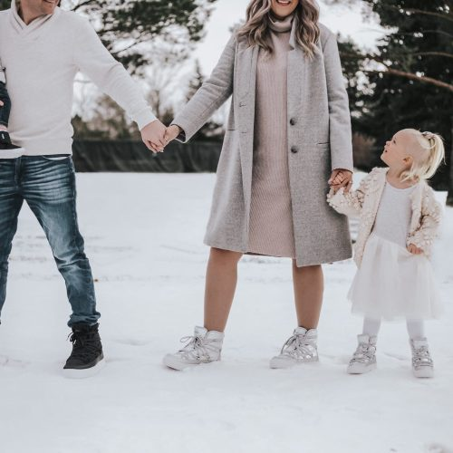 Winter Family Adventures With Native SHoes