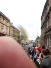 Short fat bloke's thumb