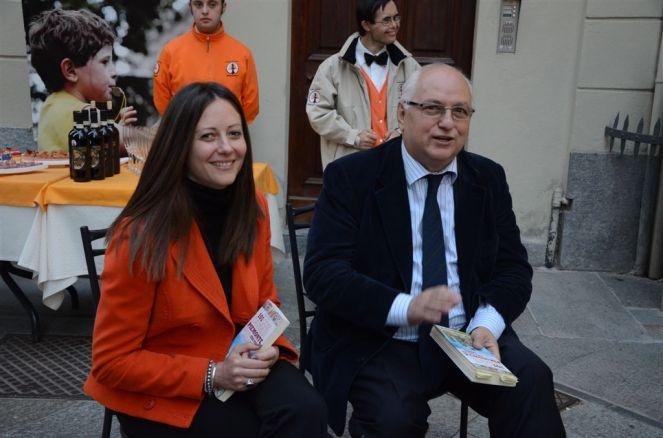 Presentazione ad Asti con Carlo Cerrato. Foto di Roberto Signorini