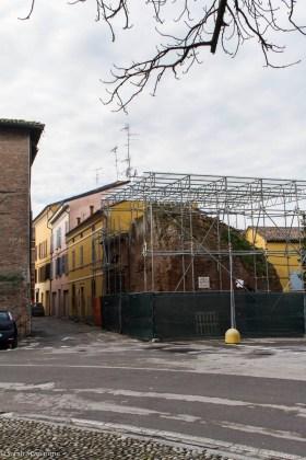 Ciò che resta della Torre dei Modenesi oggi