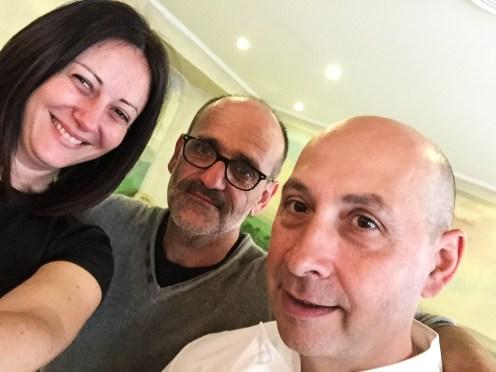 Con Davide e Paolo