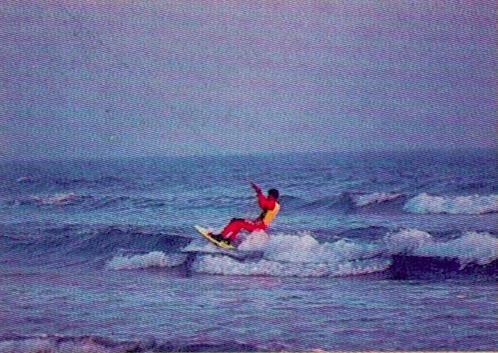 Ancêtre du kitesurf