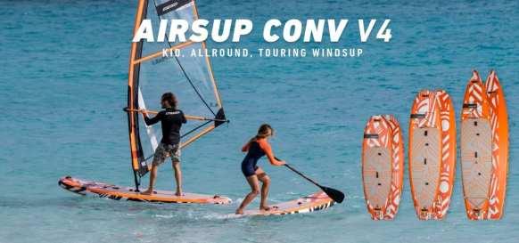 airsup convertible sup deszka - ha windszörfözni is szeretnél